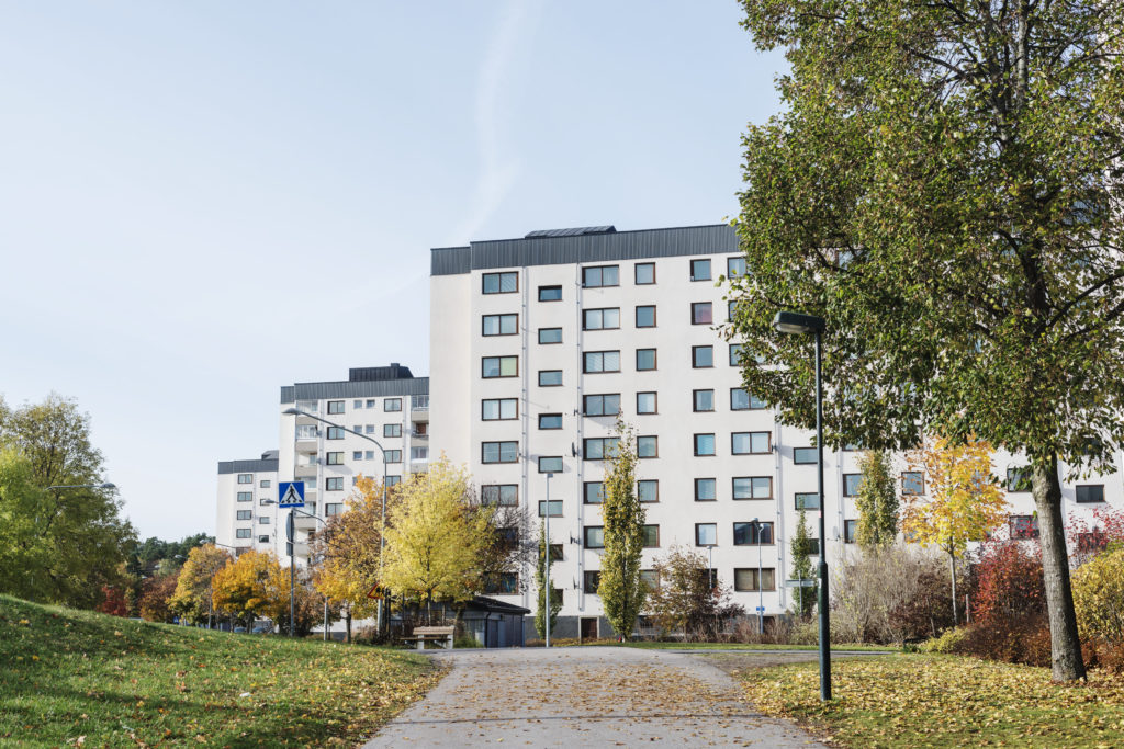 Immeuble à Stockholm