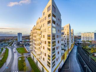 Immeubles à Frölunda, Göteborg