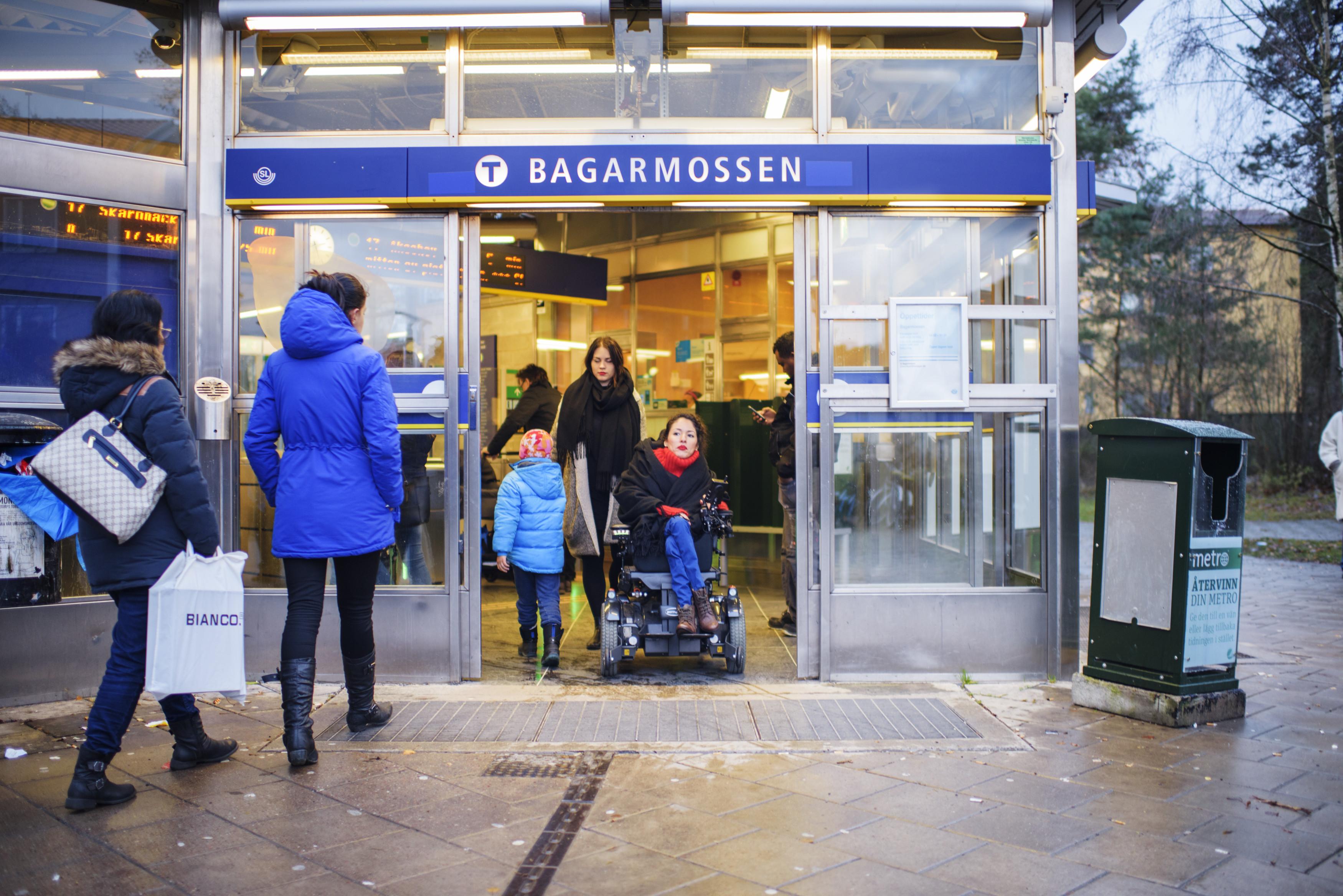 Métro Bagarmossen, Stockholm