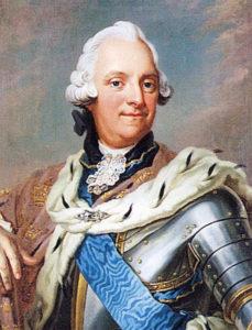Adolph Fredrik roi de Suède, peint vers 1751 par Gustaf Lundberg et Jakob Björck