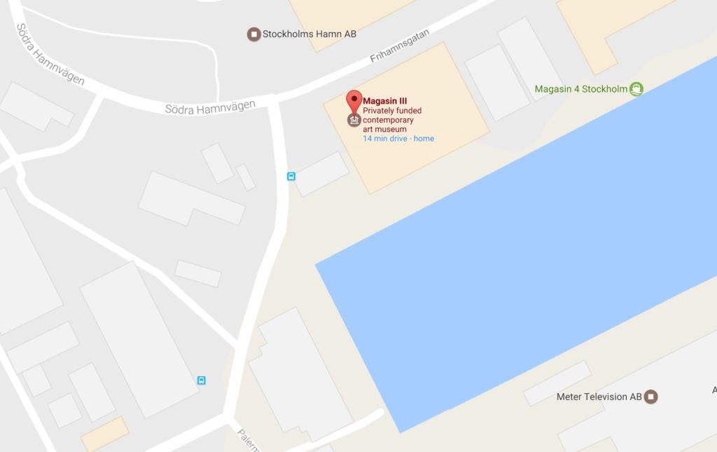 Google map Magasin III