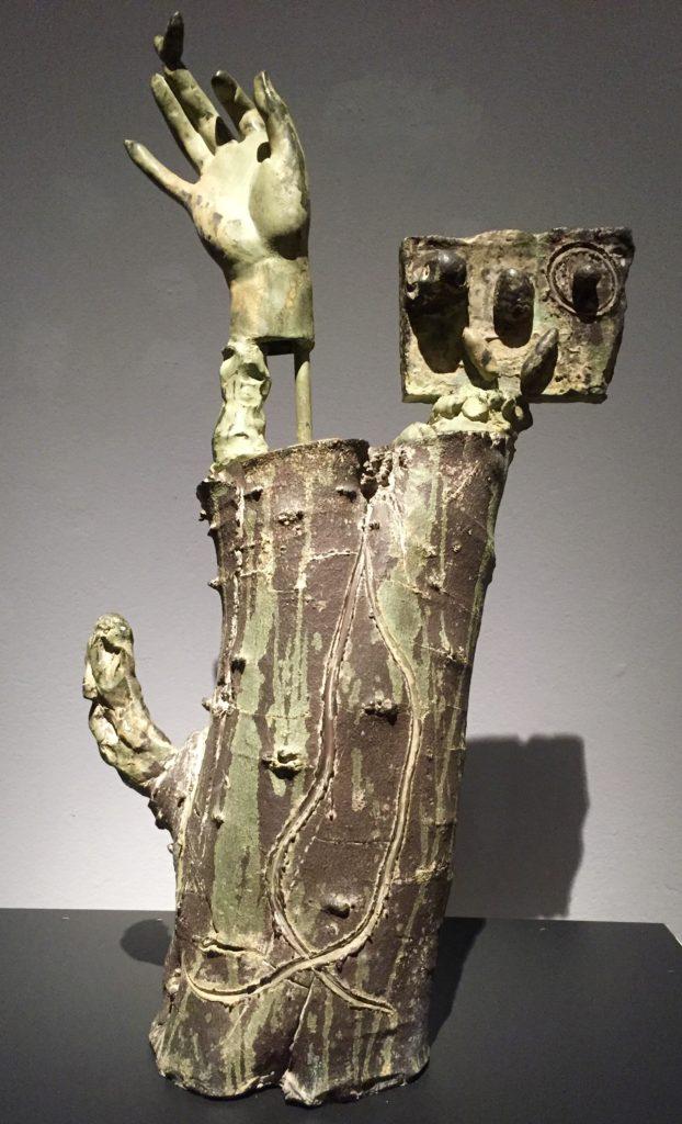 Nid aux doigts fleurissant, bronze, 1969