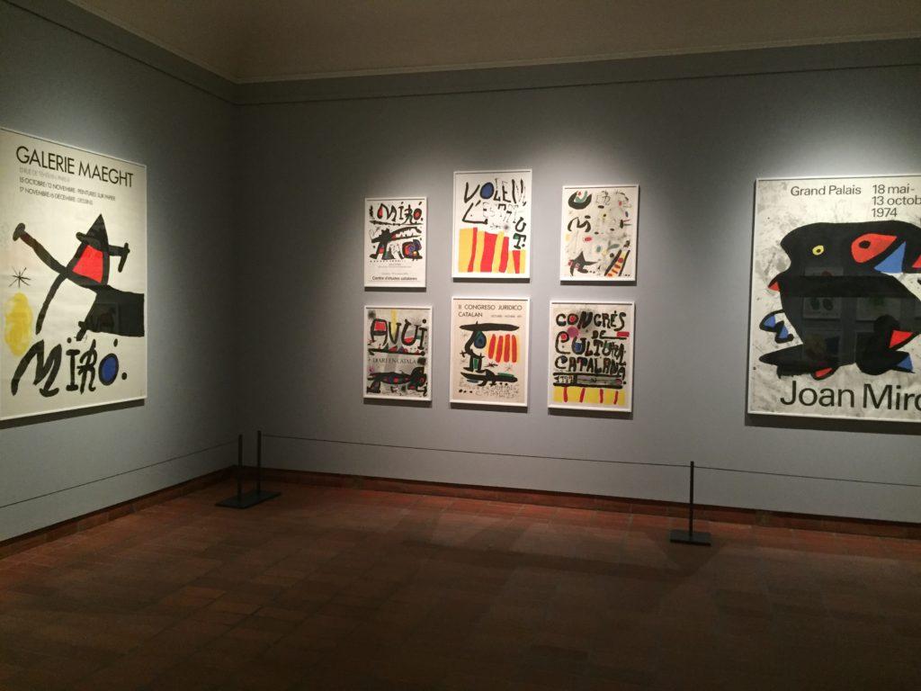 Affiches de Miró
