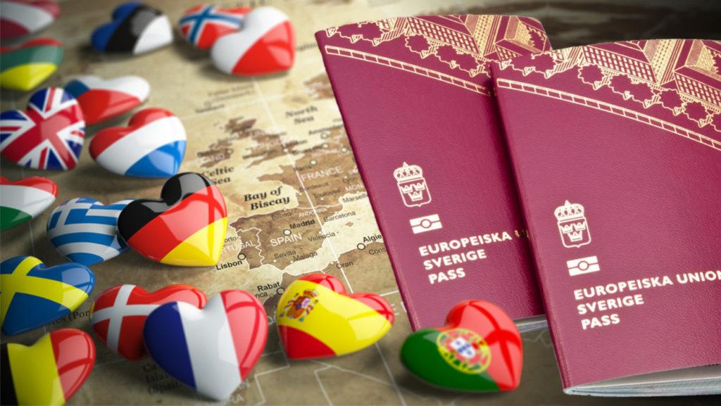Passeports suédois