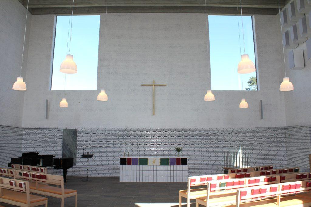Intérieur de l'église d'Årsta