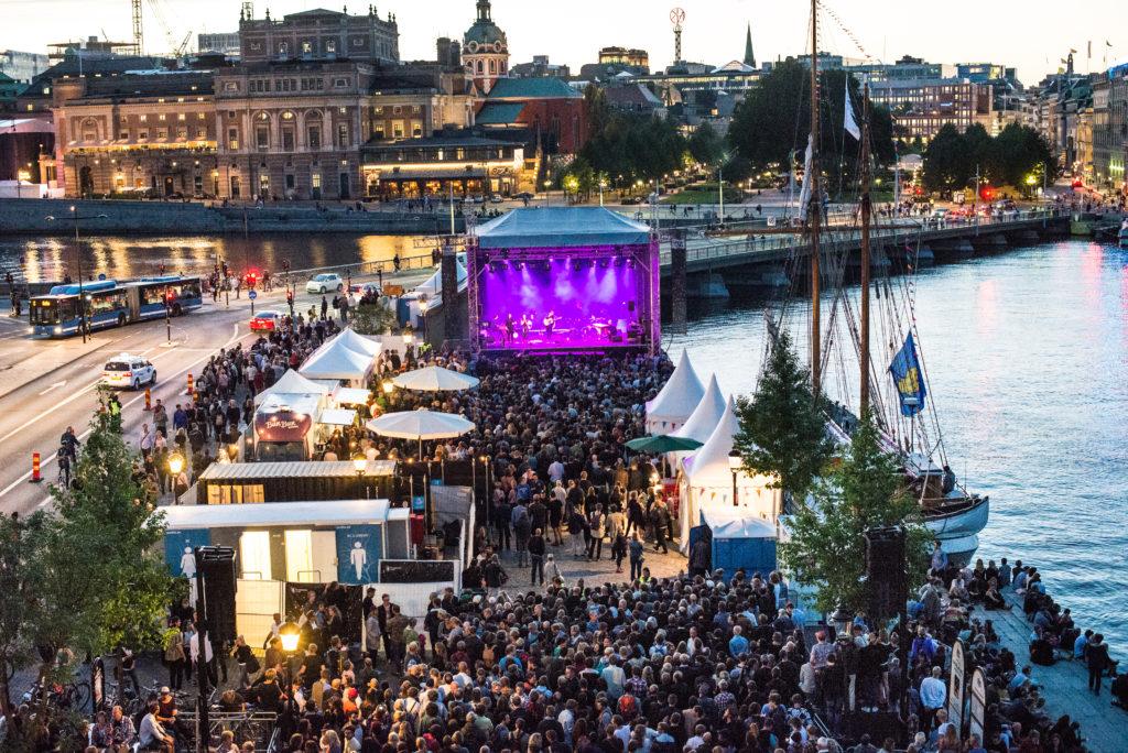 Kulturfestivalen sur Skeppsbron