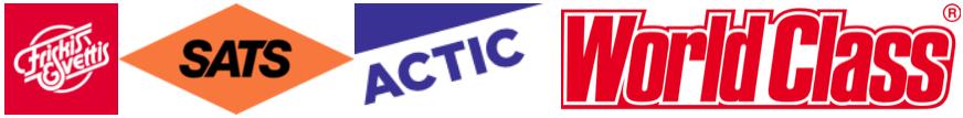 Logos F&S, SATS, Arctic, WorldClass