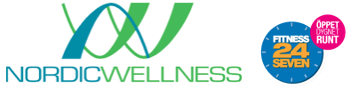 Logo Nordic Wellness, Fitness24Seven