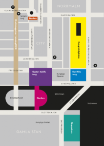 Carte du Kulturfestival et We are Sthlm