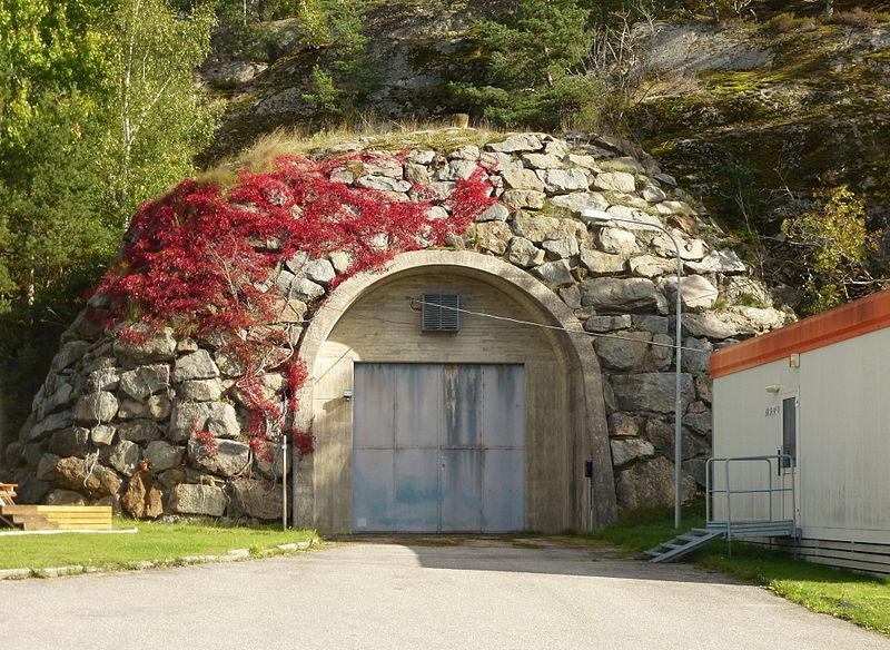 Entrée du tunnel d'Ågestaverket