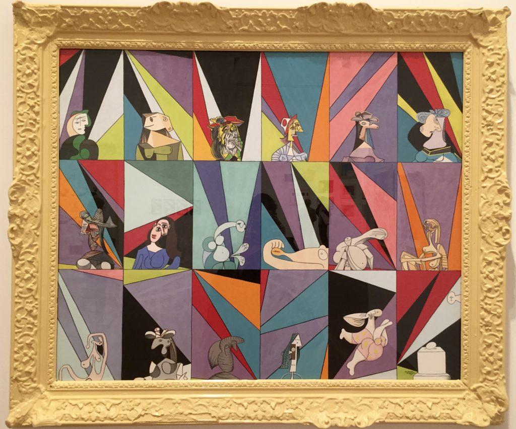 Marie-Louise Ekman, Dames de Picasso, un monument œuf et 18 tableaux d'Olle Baertling, 1980