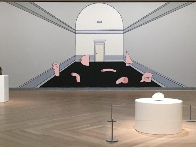 """Marie-Louise Ekman, Décor pour """"Gisèle"""" du Ballet Cullberg, 1998/2017"""