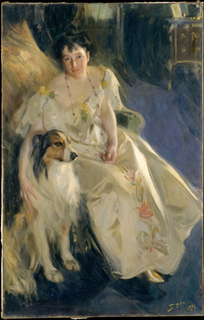 Anders Zorn, Virginia P. Bacon, 1897