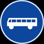 Pancarte de file de bus
