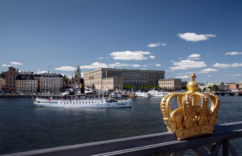 Le Palais royal à Stockholm