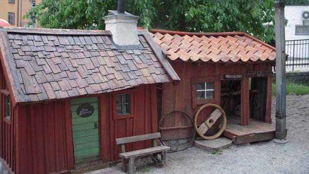Bryggartäppan - Krogen Sista Styvern och vagnmakarens hus