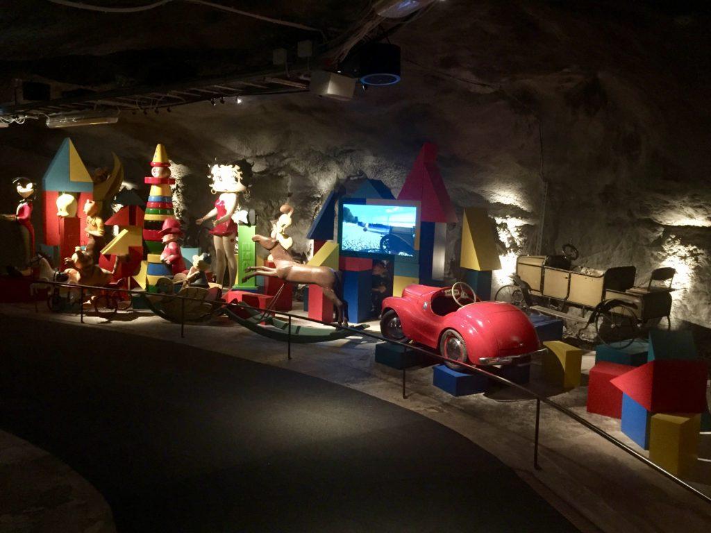 Entrée du musée du jouet