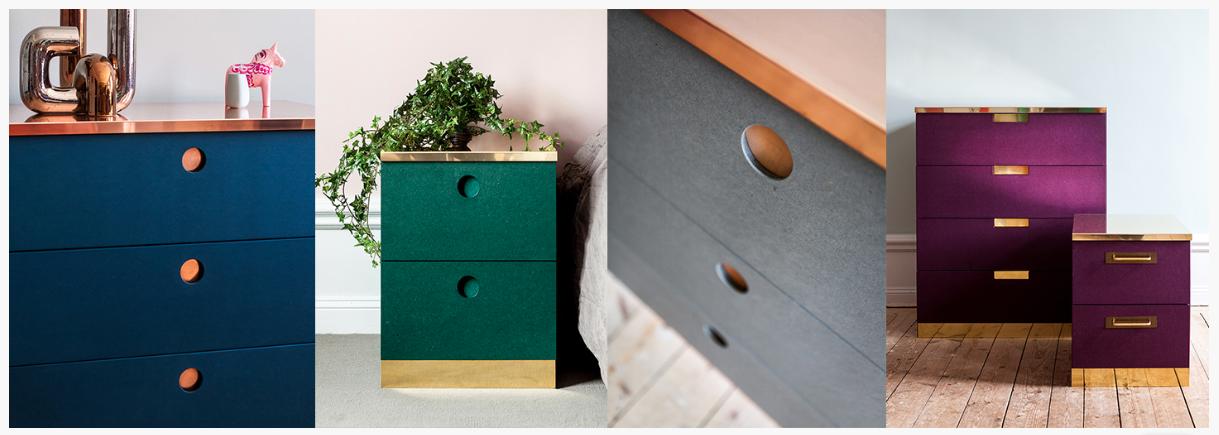 pimper billy le relooking des meubles ikea la su de en kit. Black Bedroom Furniture Sets. Home Design Ideas