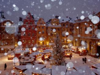Marché de Noël à Gamla Stan