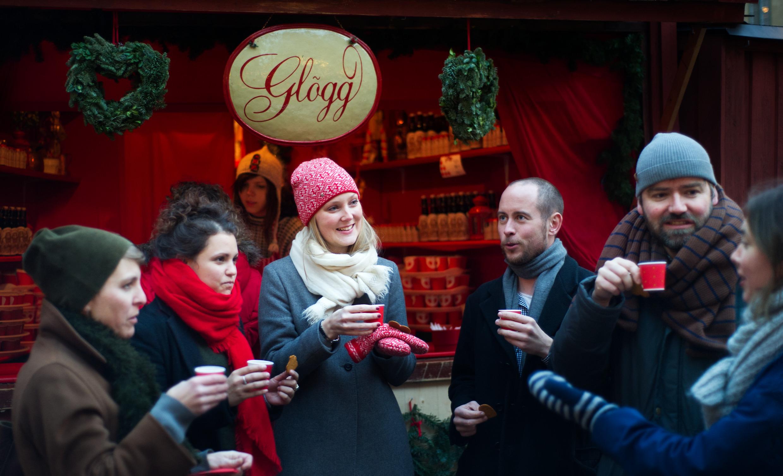 Glögg, vin chaud épicé et sucré
