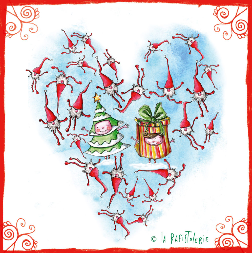 Illustration de décembre