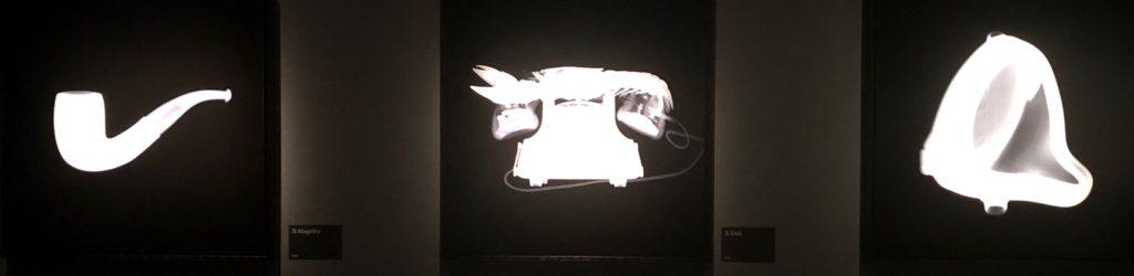 Hommage à Magritte, Dalí et Duchamp, Nick Veasey au Fotografiska