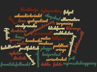 Nouveaux mots suédois 2017