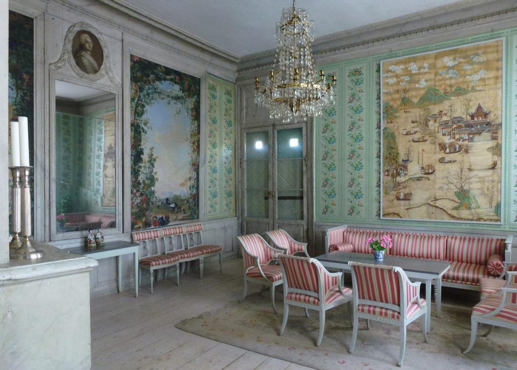 Stora Nyckelviken, franska salongen