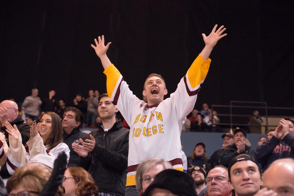 Supporter hockey