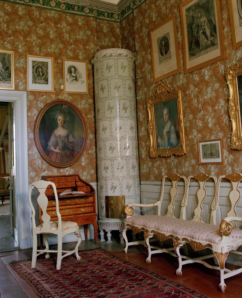 Intérieur du château de Tyresö