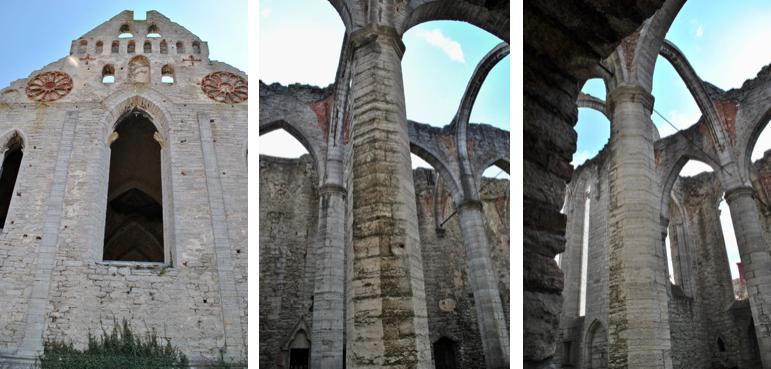 Ruines dans Visby