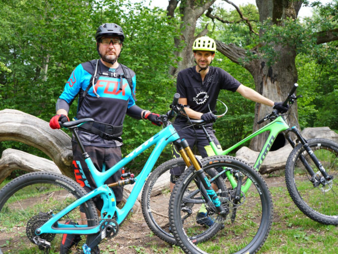 Sylvain Runberg et Yoann Taberlet, prêts à partir sur les trails de Stockholm