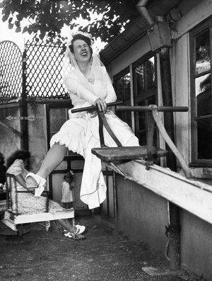 La mariée chez Gégène 1946, Robert Doisneau