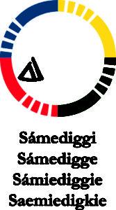 Logo du Sámediggi, le parlement sami de Suède