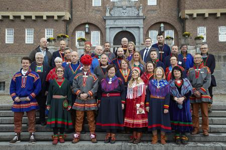 Le conseil du parlement sami de Suède après les élections de 2017