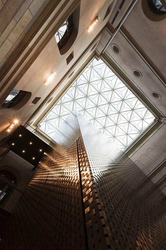 Ascenseur dans la cour intérieure sud, Nationalmsueum