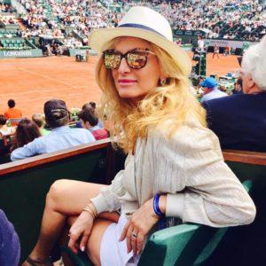 Michelle Chamoun à Roland Garros