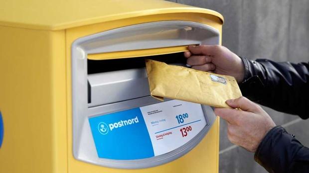 Boîte aux lettres suédoise