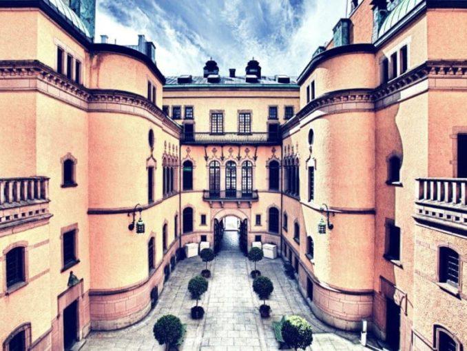 La cour intérieure, Hallwylska museet