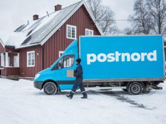 Livraison de colis par PostNord