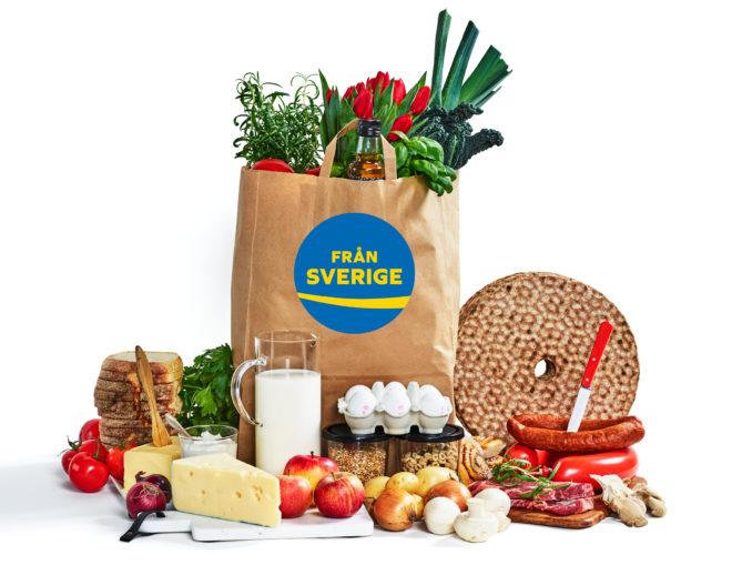 Från Sverige, logo