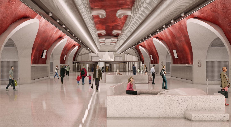 Nouveau terminal de bus de Slussen