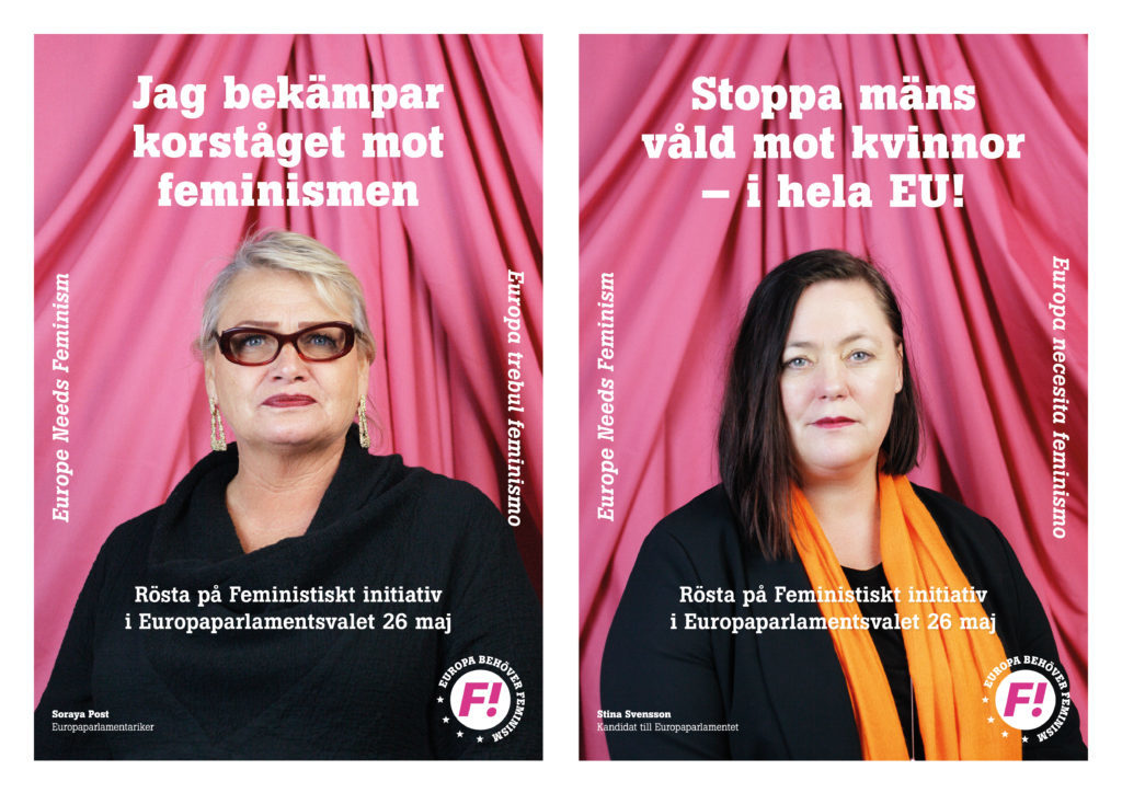 Campagne électorale européenne de Feministiskt Initiativ