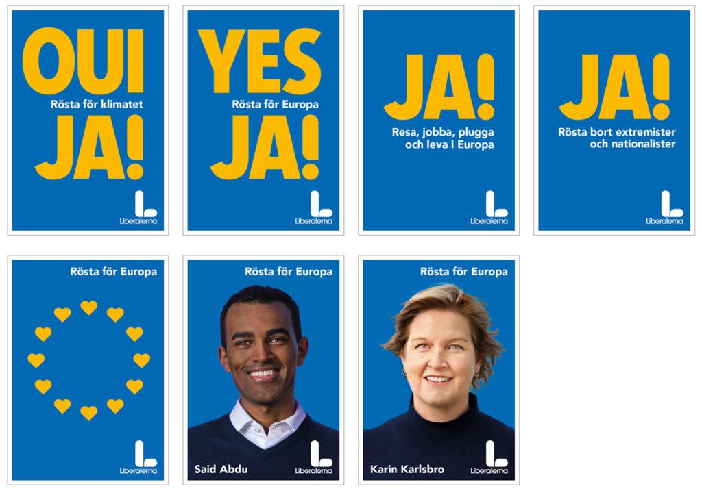 Campagne électorale européenne de Liberalerna