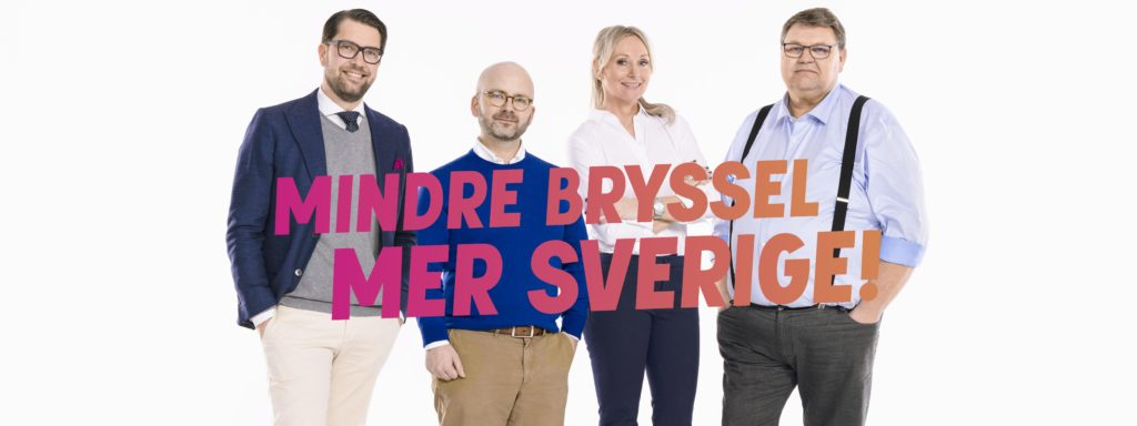 Campagne électorale européenne de Sverigedemokraterna