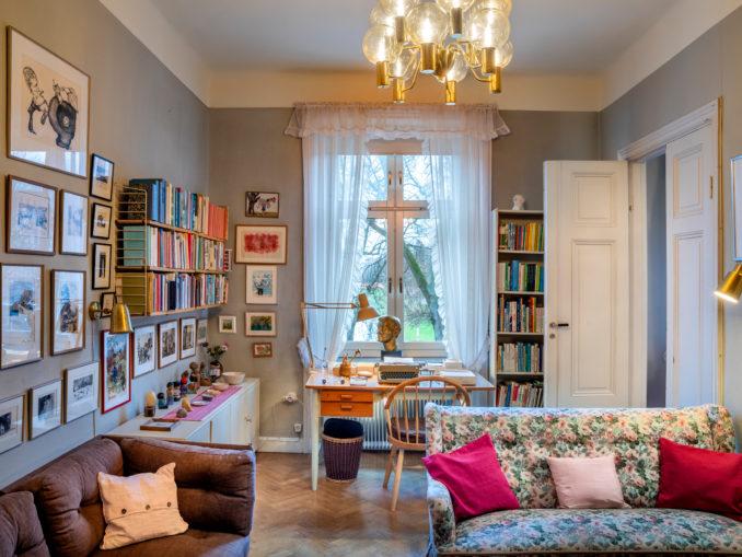 Appartement d'Astrid Lindgren