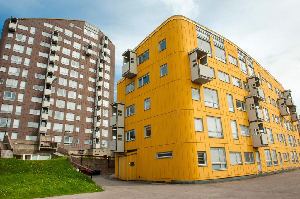 Immeubles à Kiruna