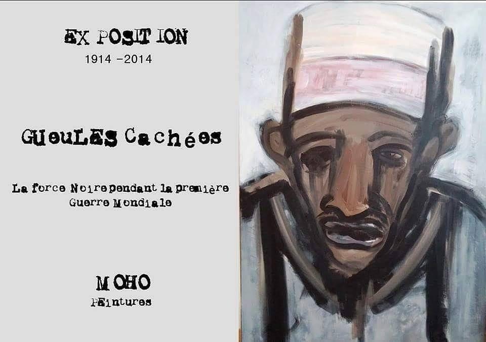 Affiche d'exposition de Moho