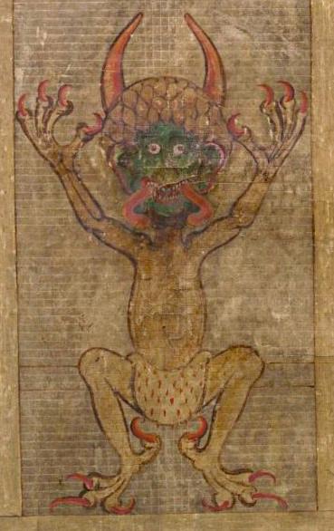 Codex Gigas ou Djävulsbibel (La Bible du diable)