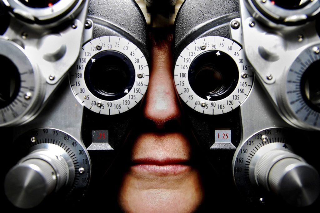 Examen des yeux